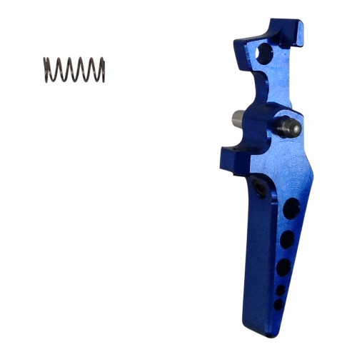 M4 TUNABLE TRIGGER HPA ALUMINUM TRIGGER BLUE AIRSOFT