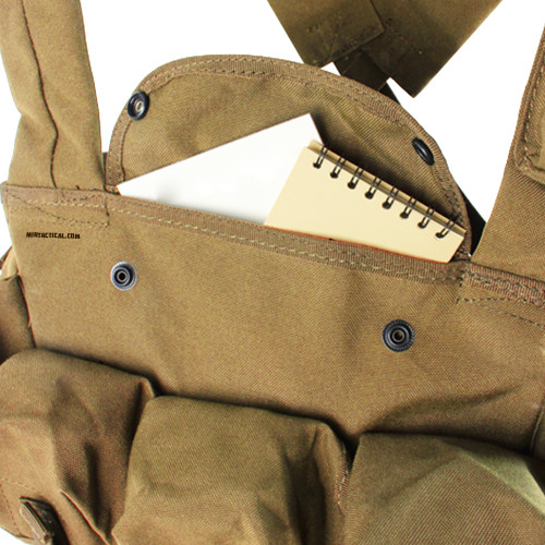 7 POCKET CHEST RIG COYOTE