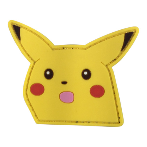 PIKACHU SHOOK FACE PATCH W/LOOP for $9.99 at MiR Tactical