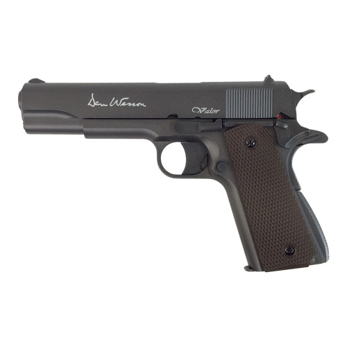 DAN WESSON VALOR 1911 AIRGUN .177 STEEL BLACK