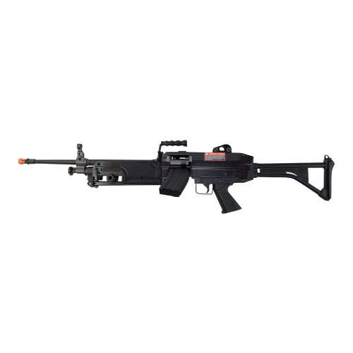 CLASSIC ARMY M249 MKI SAW AIRSOFT LMG AEG - BLACK
