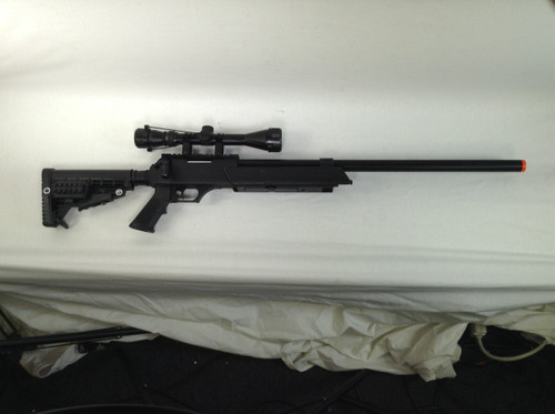 ECHO 1 ASR SNIPER RIFLE BLACK SPRING  CERTIFIED USED AIRSOFT for $59.99 at MiR Tactical