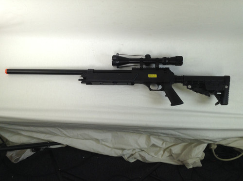 ECHO 1 ASR SNIPER RIFLE BLACK SPRING  CERTIFIED USED AIRSOFT