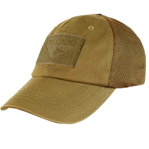 TACTICAL CAP COYOTE BROWN MESH