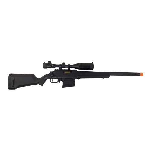 ARES STRIKER SNIPER RIFLE SPRING BLACK CERTIFIED USED AIRSOFT