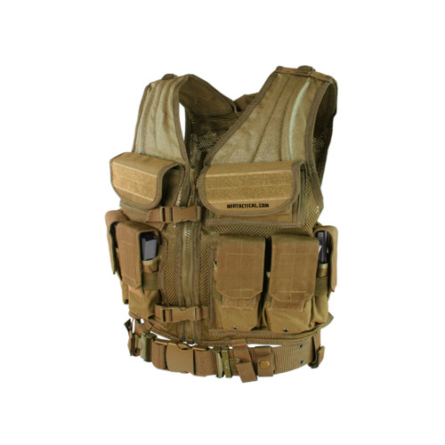 ELITE TACTICAL VEST COYOTE for $59.99 at MiR Tactical