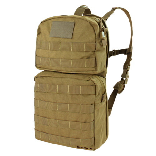 HYDRATION CARRIER 2 COYOTE BROWN for $39.99 at MiR Tactical