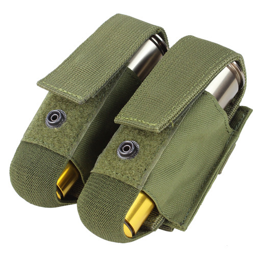 DOUBLE 40MM GRENADE POUCH OD for $10.99 at MiR Tactical