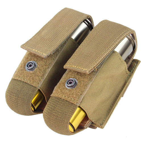 DOUBLE 40MM GRENADE POUCH TAN for $10.99 at MiR Tactical