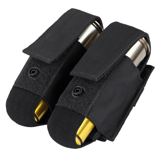 DOUBLE 40MM GRENADE POUCH BLACK for $10.99 at MiR Tactical