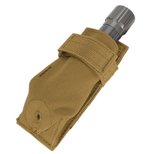FLASHLIGHT POUCH COYOTE BROWN for $7.99 at MiR Tactical
