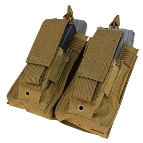 DOUBLE KANGAROO MAG POUCH COYOTE for $17.99 at MiR Tactical