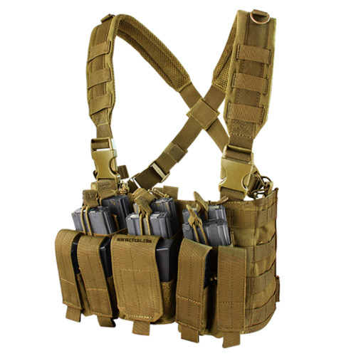 RECON CHEST RIG COYOTE BROWN for $34.99 at MiR Tactical