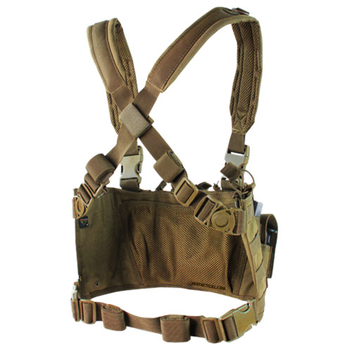 RECON CHEST RIG COYOTE BROWN