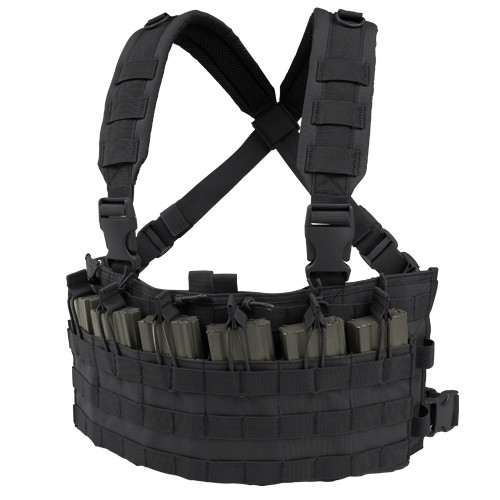 RAPID ASSAULT CHEST RIG BLACK for $33.99 at MiR Tactical