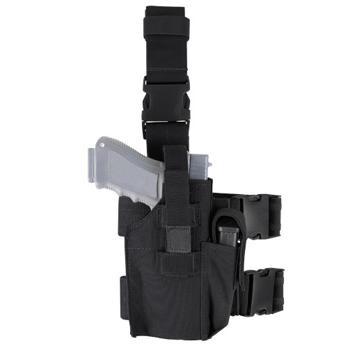 TACTICAL LEG HOLSTER BLACK for $24.99 at MiR Tactical