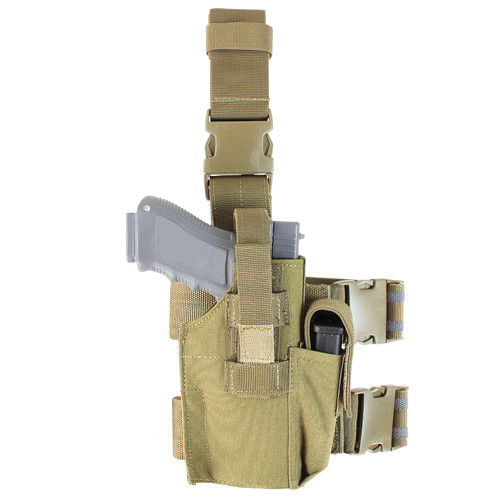 TACTICAL LEG HOLSTER TAN for $24.99 at MiR Tactical