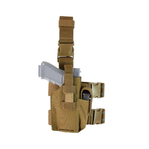 TACTICAL LEG HOLSTER COYOTE for $24.99 at MiR Tactical