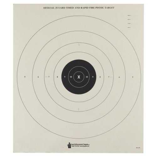 Action Tgt Bullseye Paper 100pk