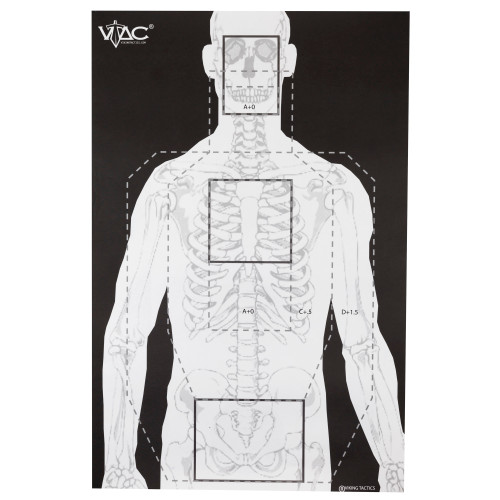 Action Tgt 2 Sided By V-tac 100pk