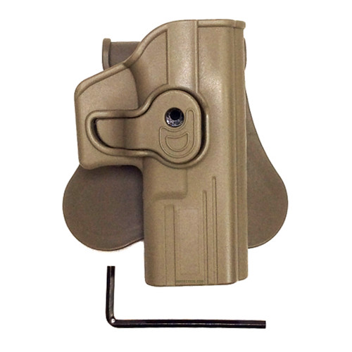 G SERIES MOLDED HOLSTER FDE RT HAND for $24.99 at MiR Tactical