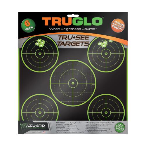 Truglo Tru-see 5 Bull Tgt 12x12 6pk