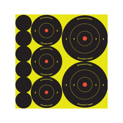 B/c Sht-n-c Rnd Bullseye Tgt Assort - BC34608-12