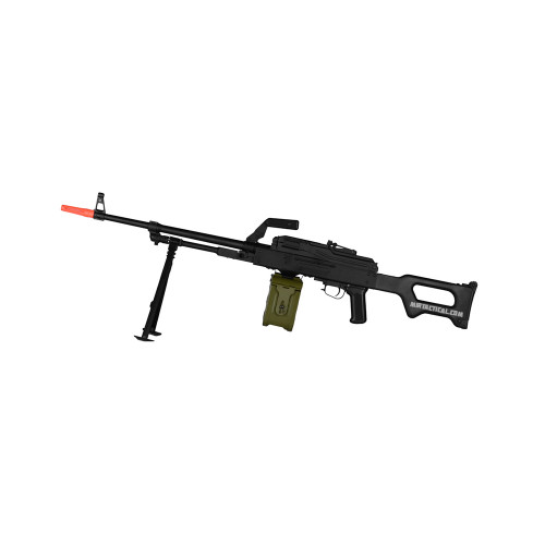 ECHO1 PKM AIRSOFT LMG AEG - BLACK