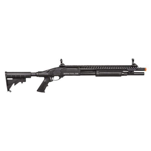 AIRSOFT GAS SCATTERGUN SP BLACK for $234.95 at MiR Tactical