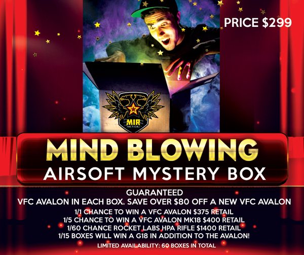 MIR'S MIND BLOWING MYSTERY BOX  AVALON SERIES