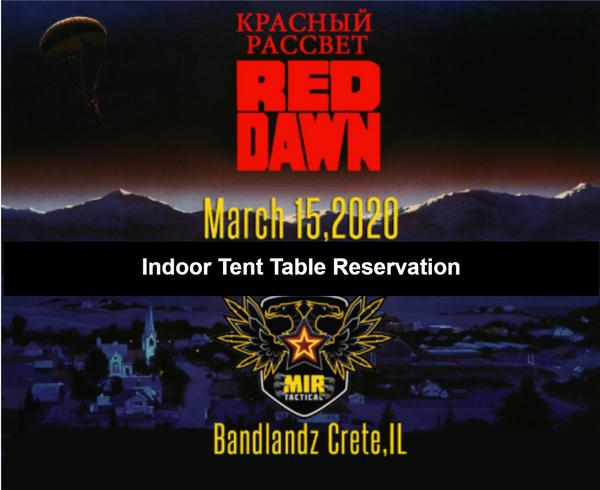 Red Dawn Team Table