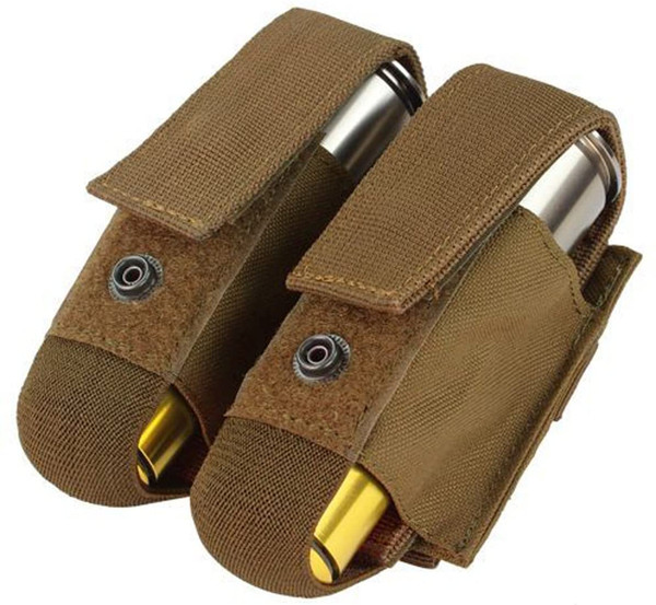 DOUBLE 40MM GRENADE POUCH COYOTE