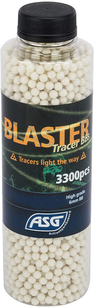 ASG BLASTER 0.20G GREEN TRACER AIRSOFT BBS - 3300 COUNT