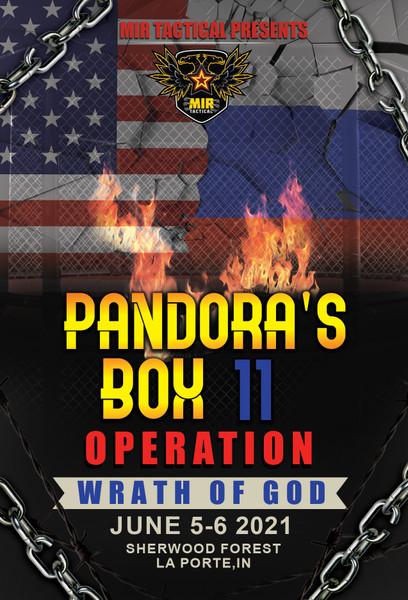 PANDORAS BOX 11 - 6/5/2021 6/6/2021 AIRSOFT MILSIM EVENT