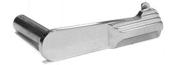 AIRSOFT MASTERPIECE CNC STEEL SLIDE STOP TYPE 2 SV  FOR TM HI CAPA SILVER