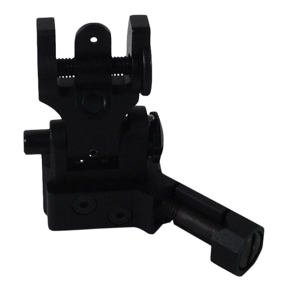 RANGER ARMORY OFFSET FLIP-UP REAR APERTURE - BLACK for $31.99 at MiR Tactical