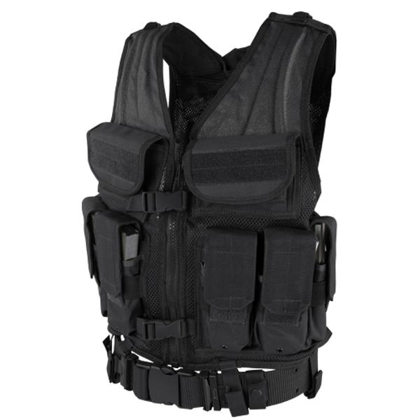 ELITE TACTICAL VEST BLACK for $59.99 at MiR Tactical