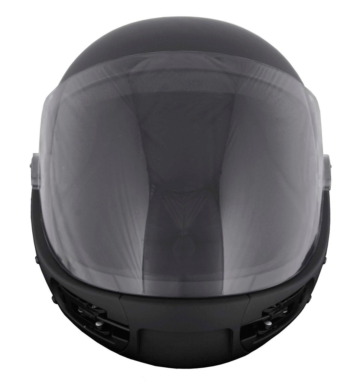 KISS Full Face Helmet (BLACK)