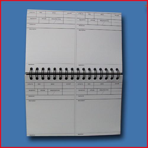 Precision Freefall Log Book