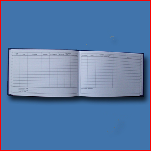 Parachutist Log  Book