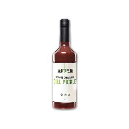 Dill pickle Caesar Mix Drink Beverage Simps cocktail pickles