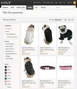 Sophisticated Pup on Gilt.com today!