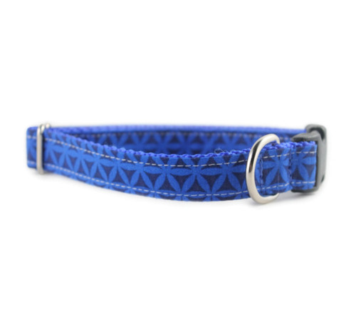 The Blues Bow Tie Dog Collar
