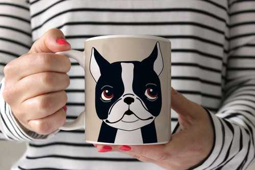 Boston Terrier Ceramic Mug