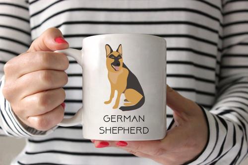 German Shepherd Ceramic Mug