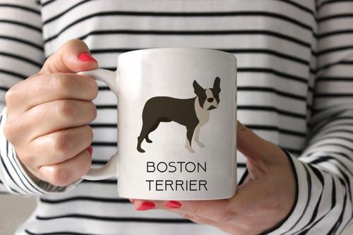 Boston Terrier Style 2 Ceramic Mug