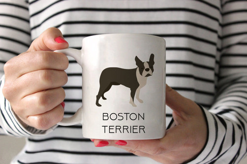 Boston Terrier Style 2 Ceramic Mug