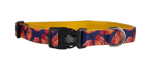 Hot Dogs Dog Collar - Comfort Soft
