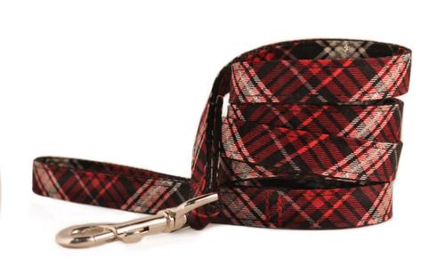 Holiday Plaid Dog Leash
