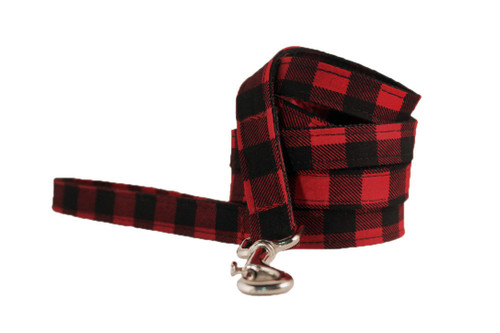 Buffalo Check Dog Leash